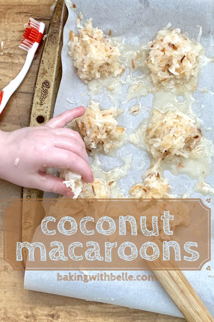 Coconut macaroons pin