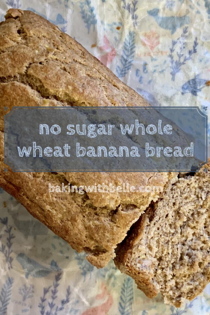 No sugar banana bread pin