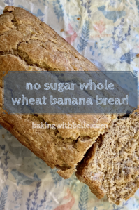 No sugar banana bread pin