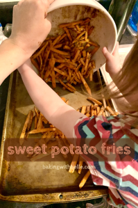 Sweet potato fries pin