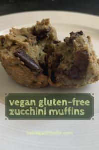Vegan gf zucchini muffin pin